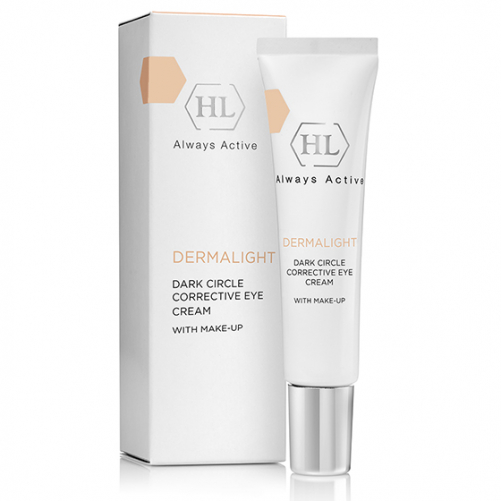 Holy Land DERMALIGHT Dark Circle Corrective Eye Cream make-up   Корректирующий крем с тоном, 15 мл