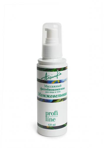 Альпика | Масло массажное Фитобиокомплекс, для лица и тела Можжевельник, 150 мл